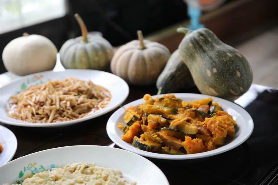 南瓜料理。(圖取自新北市農業局官網)