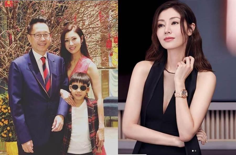 李嘉欣和富商許晉亨結婚11年,感情依舊幸福甜蜜。(圖/翻攝自IG)