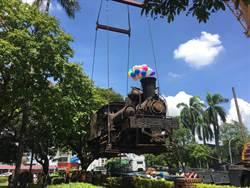 末代老司機相伴 嘉義公園蒸汽火車頭SL-21回娘家