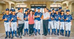 關西國小棒球隊 出征日本