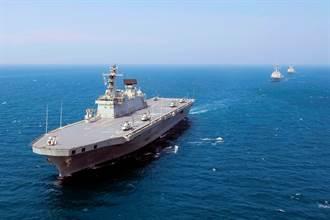 韓計畫建造輕航艦 排水量比日本出雲級大