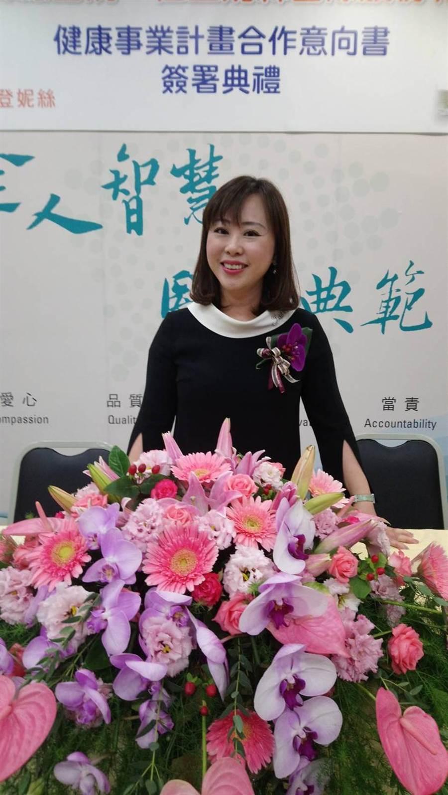 佐登妮絲集團執行長陳佳琦表示,集團未來將強力拓展大陸醫美通路。圖/曾麗芳