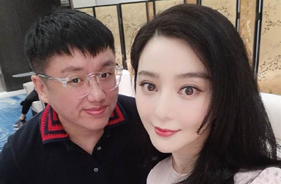 范冰冰與男子合照在網路瘋傳,更直指是她的「新歡」。(圖/微博)