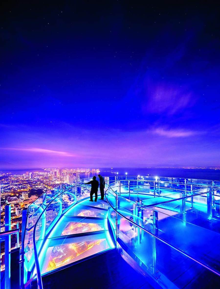 (為爭取更多台灣客前往觀光,檳城旅遊局來台大力推廣檳城境內最新與「世界之最」設施。圖/檳城旅遊局)