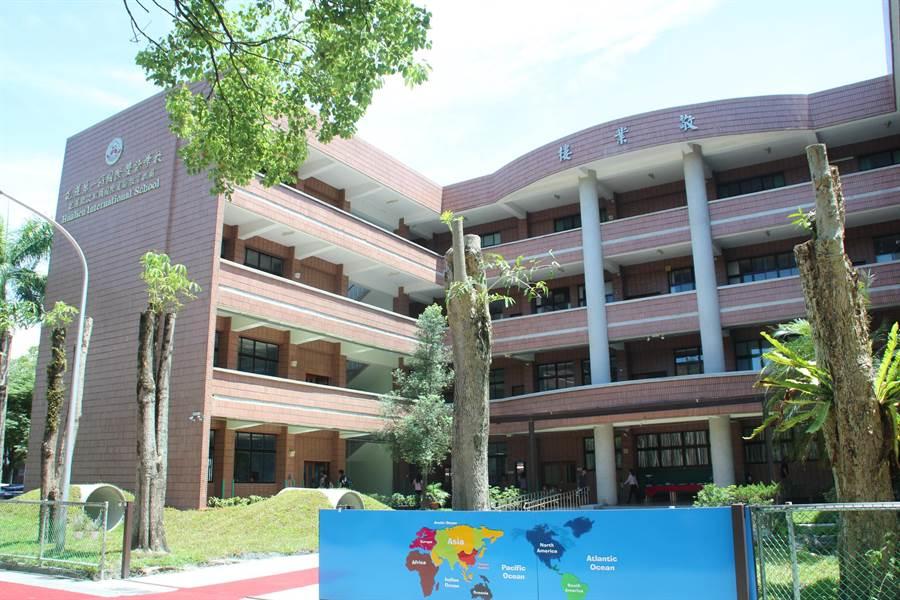 花蓮縣波斯頓國際實驗教育機構是花蓮第一間國際雙語學校,位在國立東華大學美崙校區敬業樓。(張祈攝)