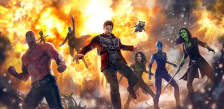 《星際異攻隊》有望加入《雷神索爾4》演出。(圖/達志影像)