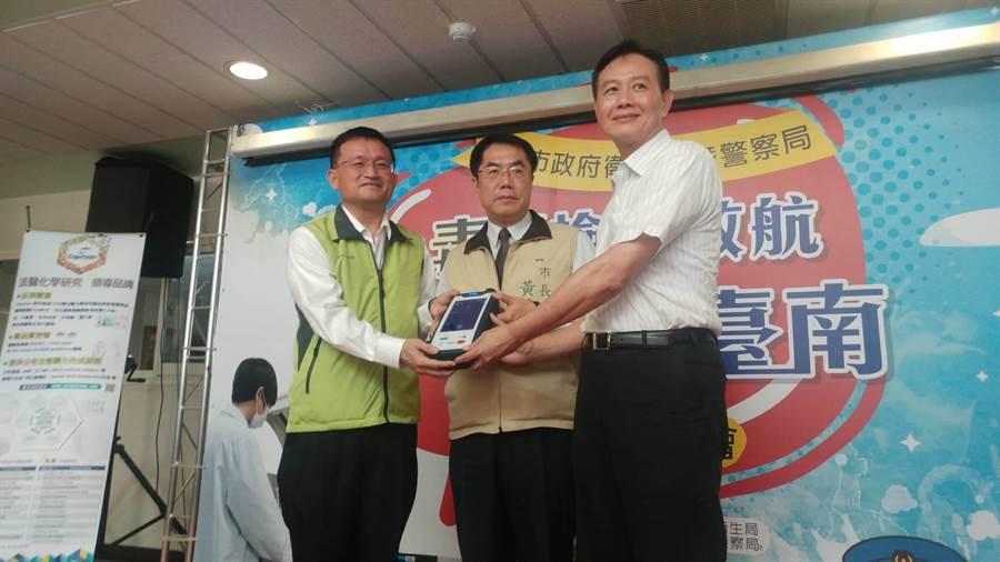 台南市衛生局是全台唯一可檢驗毒品的衛生機關,並跨局處合作,對於防制毒品、社會治安都有正面助益。(莊曜聰攝)