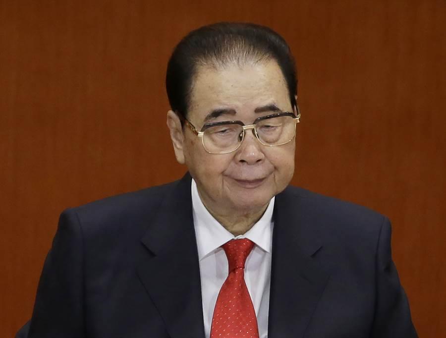 中共前國務院總理李鵬22日因病逝世,享年91歲。(圖/美聯社)