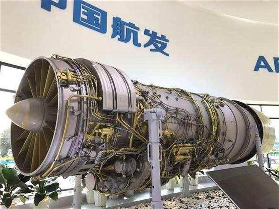 大陸國產渦扇-10發動機代號「太行」,研究過程長達近20年。目前計劃在配備在殲-11B,殲-15,殲-16,殲-10C和殲-20A上。(圖/網路)