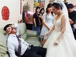 感動3萬人!鐵漢爸嫁女 崩潰痛哭喊:不要!