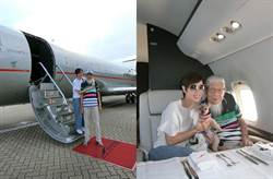 女神港姐大手筆搭私人飛機出遊 背後真相讓人哭了
