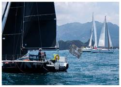 崑崙表贊助台灣在地帆船賽