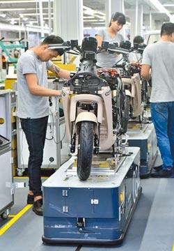 經濟部:電動機車補助明年起階梯式調降