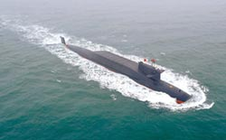 陸新核潛將服役 掌控制空制海權