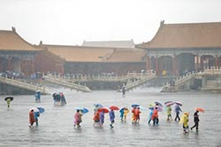 滂沱大雨紫禁城 揭防汛祕密