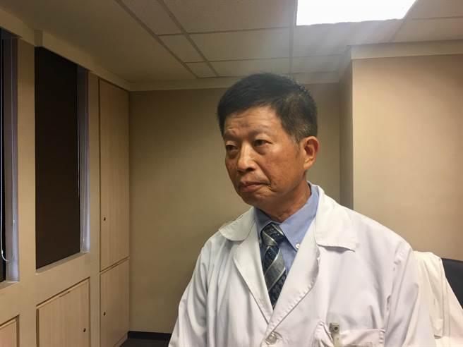 書田診所靜脈血管外科主任游堂振。(林周義攝)