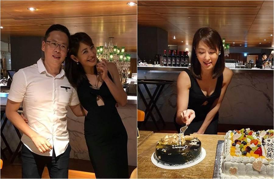 賈永婕日前開心迎接45歲生日。(圖/取材自賈永婕的跑跳人生臉書)