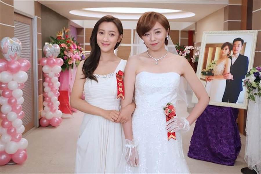 夏宇禾(左)和王瞳。