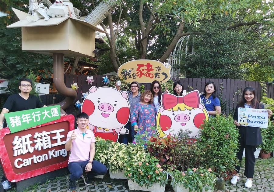 泰國知名旅遊行腳節目造訪台中,大讚「好吃、好玩、好好買」。(陳世宗翻攝)