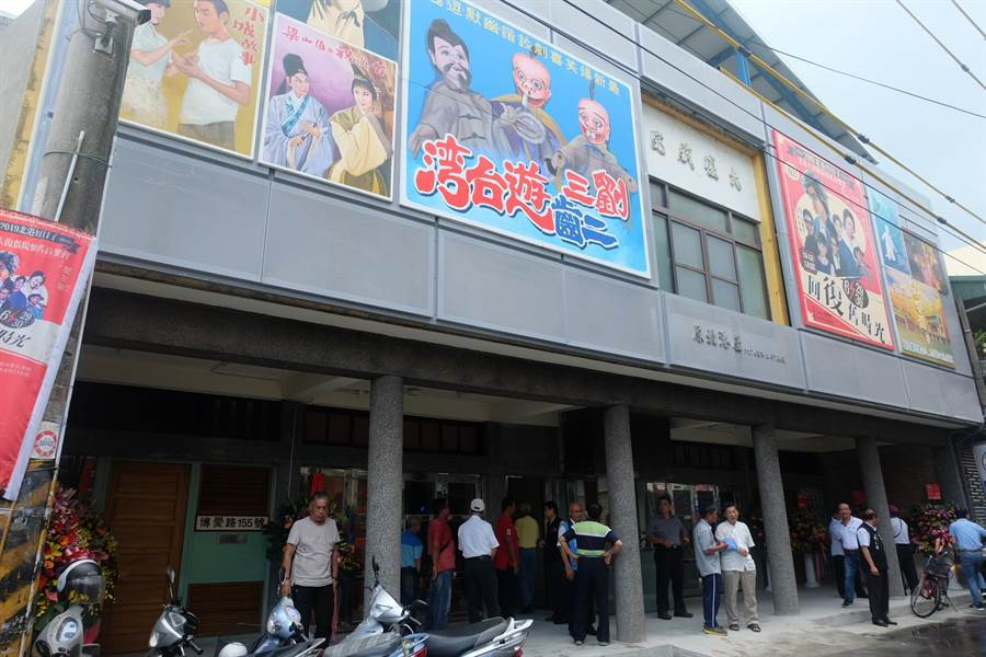雲林縣遴選北港街角藝事館,將於26日在北港大復戲院舉行說明會。(張朝欣攝)