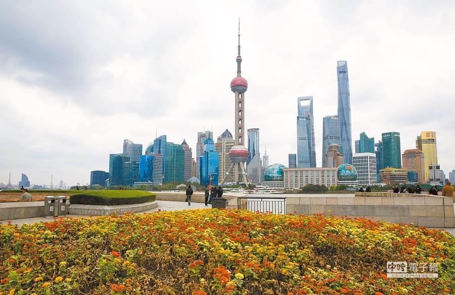 上海浦東陸家嘴金融中心。(中新社資料照片)