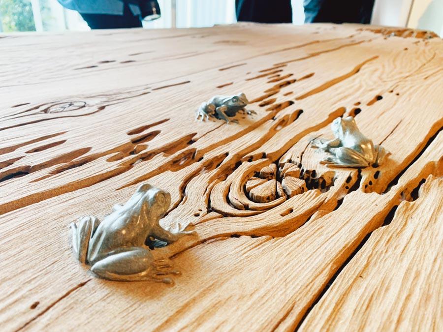 花蓮縣石雕協會藝術家組成資師團隊,傳承技藝培育石雕新血。    (許家寧翻攝)