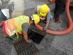 中市環保局清北區水溝累積40年汙泥 市民寫信肯定