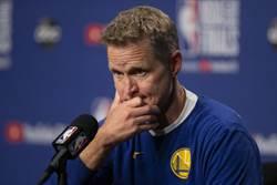 NBA》科爾痛批:一眉哥轉隊形同綁架