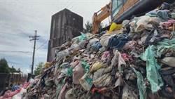 梨山累積600噸垃圾 盧秀燕親視察承諾全力協助清運