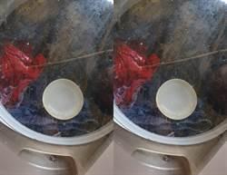 為何把碗丟洗衣機?網邪笑:好兇