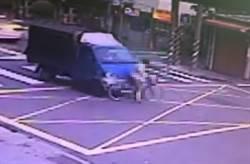 延平北路貨車撞腳踏車 7旬婦送醫不治