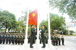 應對香港衝突 駐軍依法維穩