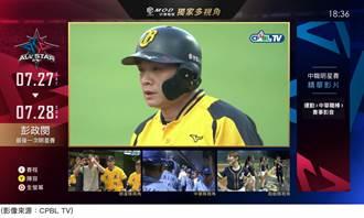 中華電信MOD、Hami Video多視角轉播中職明星賽