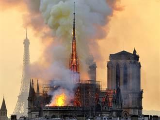 不甩火災!聖母院守護神竟怕「熱到垮」