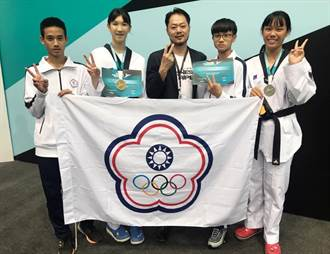 中港高中跆拳道好手林唯均 奪亞洲青少年跆拳道錦標賽金牌