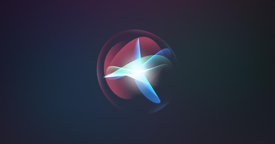 蘋果 Siri 語音助理代表圖示。(圖/翻攝蘋果官網)