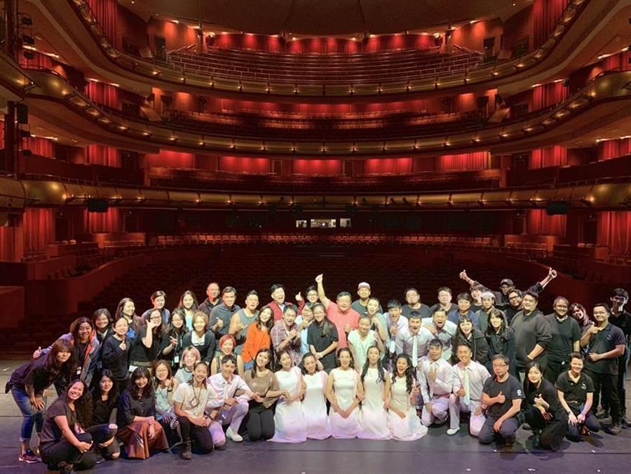 新加坡濱海中心首度引進中文音樂劇《愛呀,我的媽!》,為果陀劇場原創。(圖/果陀劇場提供)