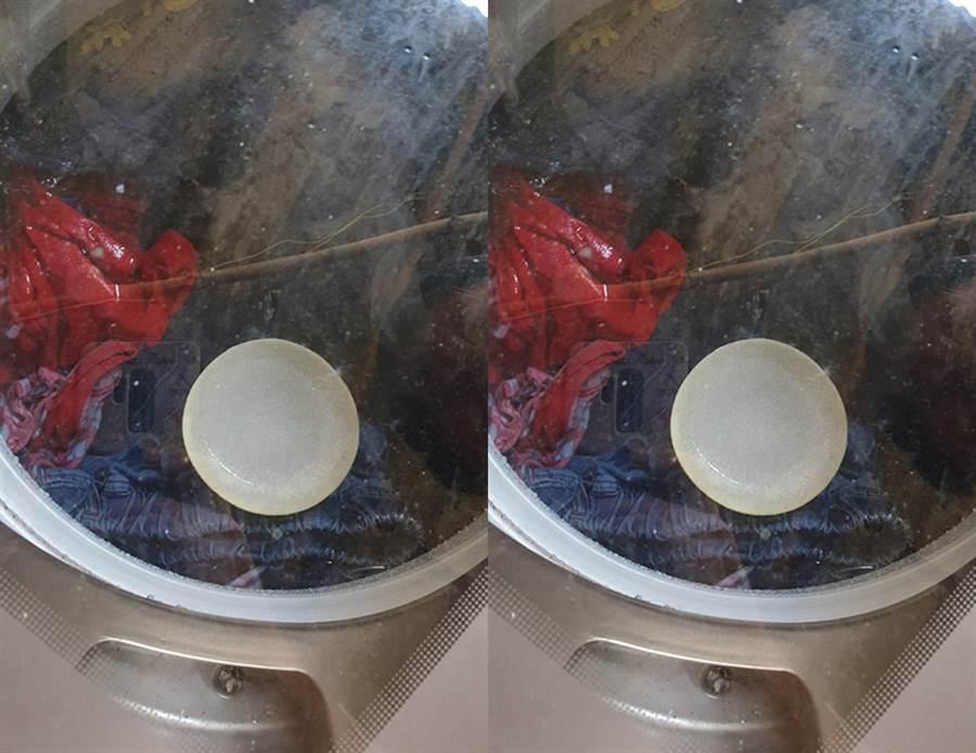 為何把碗丟洗衣機?網邪笑:好兇(圖/翻攝自臉書《爆怨公社》)