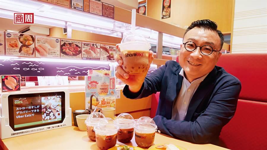 歇腳亭創辦人鄭凱隆坦言,研究日本市場3年,此次強強聯手才能建立競爭門檻。(攝影者.李雅筑)