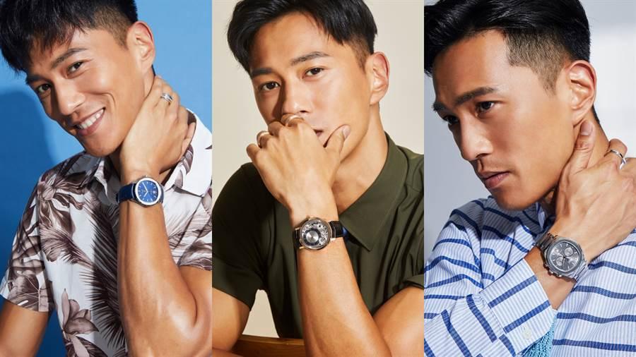 而立之年有著多重身分且永懷正向人生的青年演員鍾承翰,透過三款PIAGET伯爵經典的腕錶作品,展現他在職場和家人之間所扮演的暖男魅力。(圖/品牌提供)