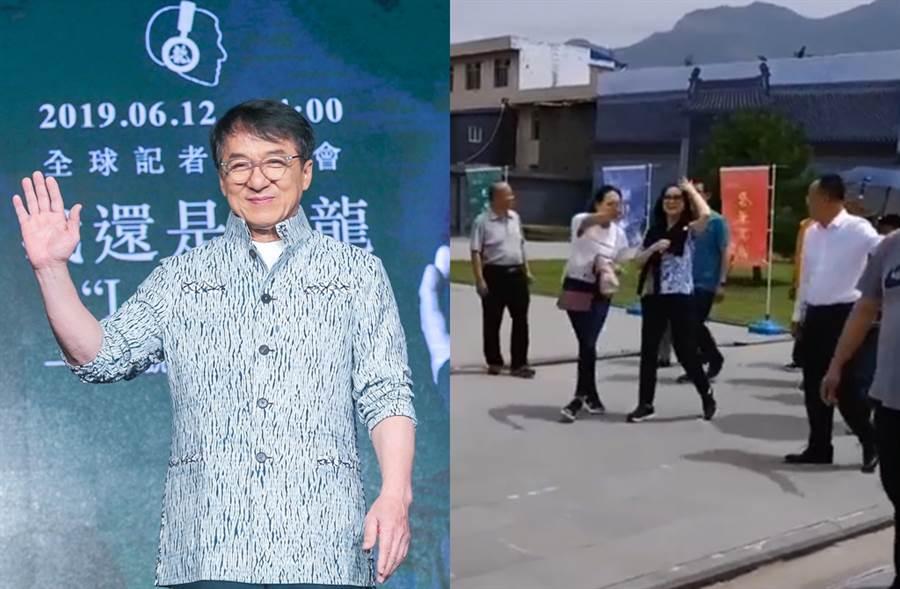 林鳳嬌昨現身山西。(圖/中時資料照片;翻攝自秒拍)
