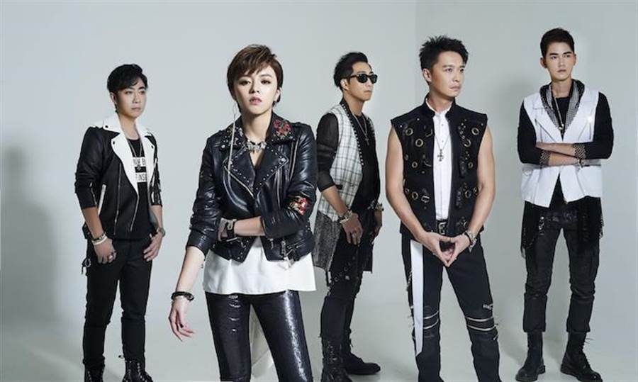 87乐团成员艾成、王瞳、阿修罗、何豪杰、乐咖本周六将在桃园出席宣导活动。资料照
