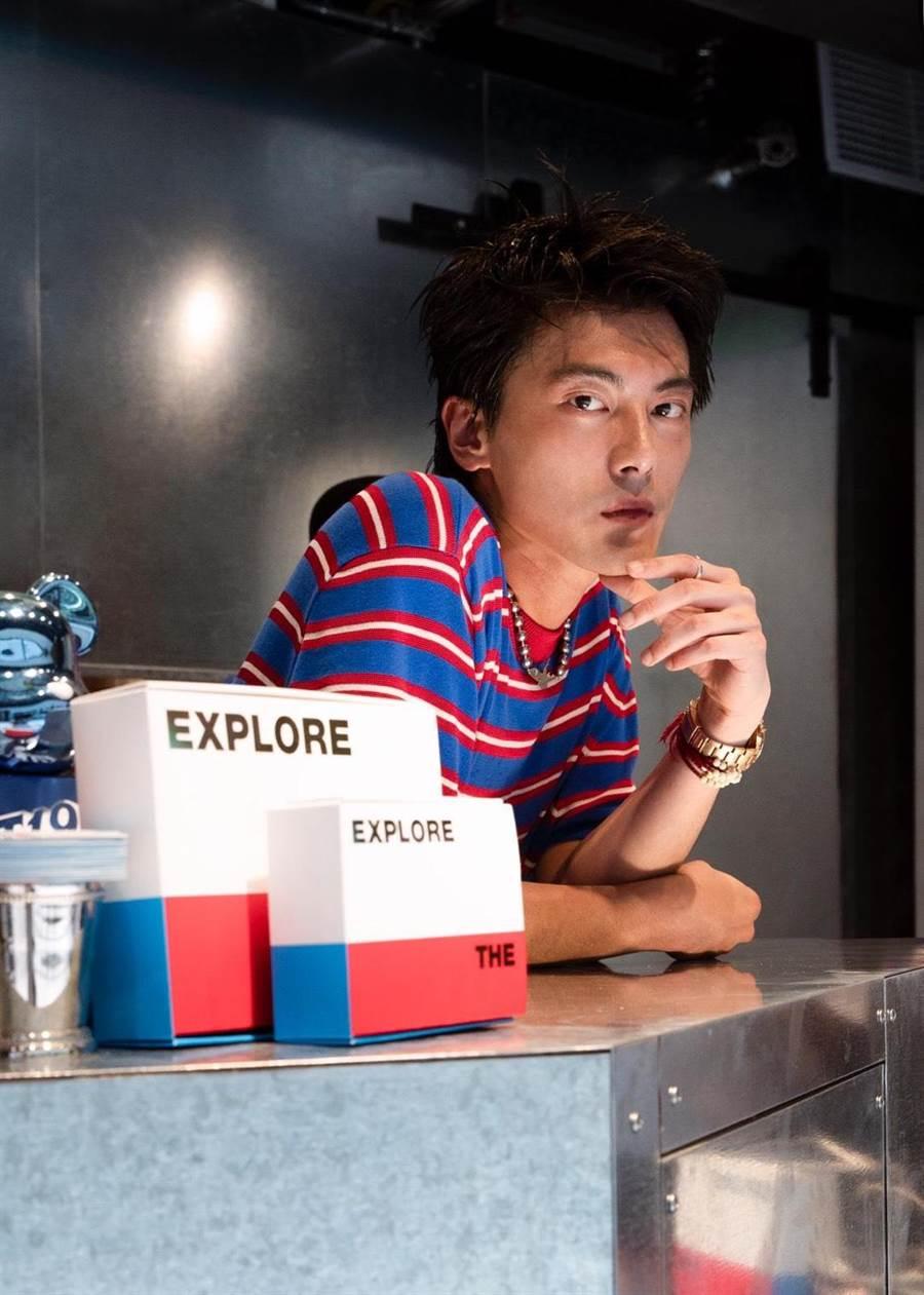 新光三越信義A11 2F新櫃OCEAN BOX創辦人Richard有「小陳冠希」稱號。(新光三越提供)