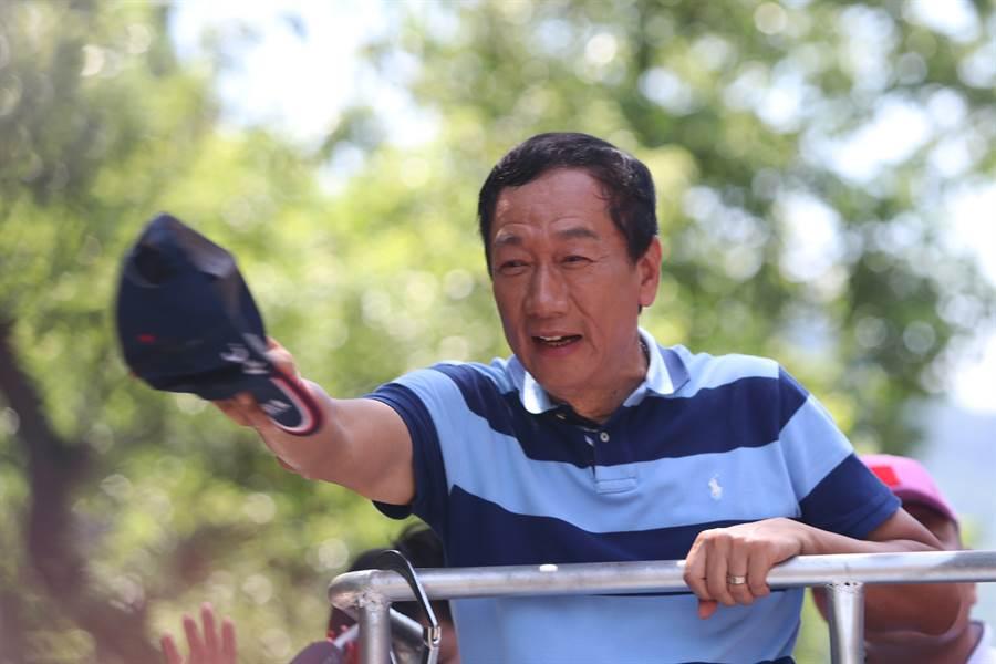 前鴻海董事長郭台銘。(圖/資料照片,實習記者石奕賢攝)