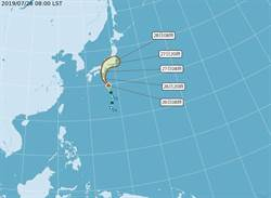 赴日旅遊注意!輕颱百合生成直撲日本