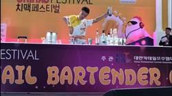 韓國雞啤節花式調酒賽 嘉藥學生展創意勇奪冠