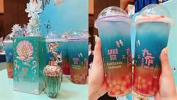 今年夏天必朝聖!ANNA SUI X 丸作聯名推出手搖飲「藍海初戀」超消暑