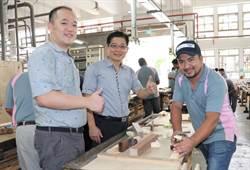 台灣細木工法巧奪天工 拉丁美洲友國來台取經