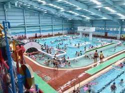 金牌水質認證標章 游泳、三溫暖有保障