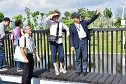 水湳中央公園法籍建築師到台中 預計年底前開幕